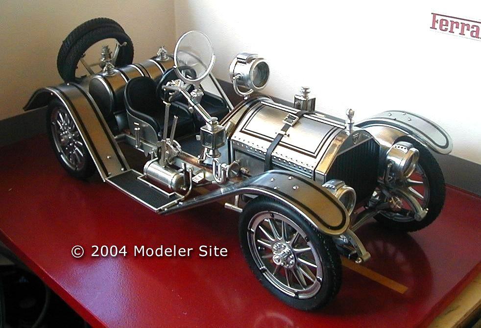 Entex 1 16 Scale Mercer Raceabout Plastic Model Car Kit No 8452 Ebay